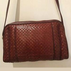 Fendi SAS Roma Vintage Chestnut Handbag